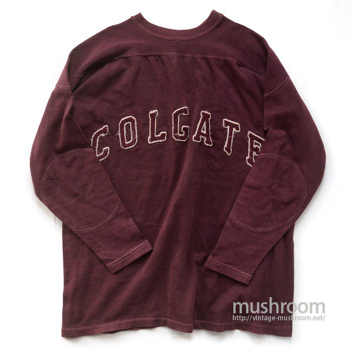 L&C COLGATE COTTON FOOTBALL T-SHIRT