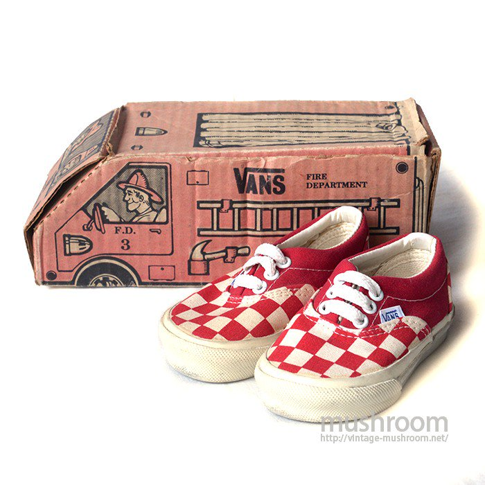 VANS ERA CANVAS SHOES( BABY/MINT )