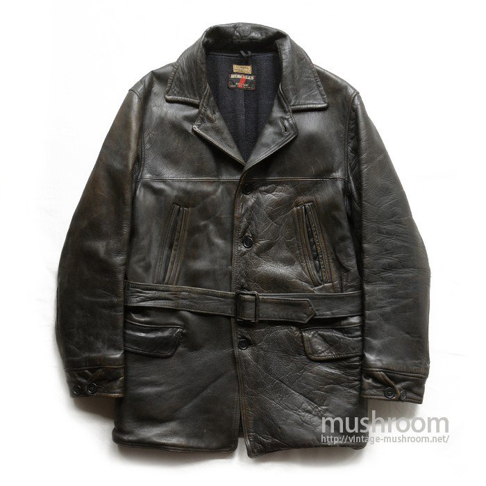 HERCULES SINGLE-BREASTED CAR COAT