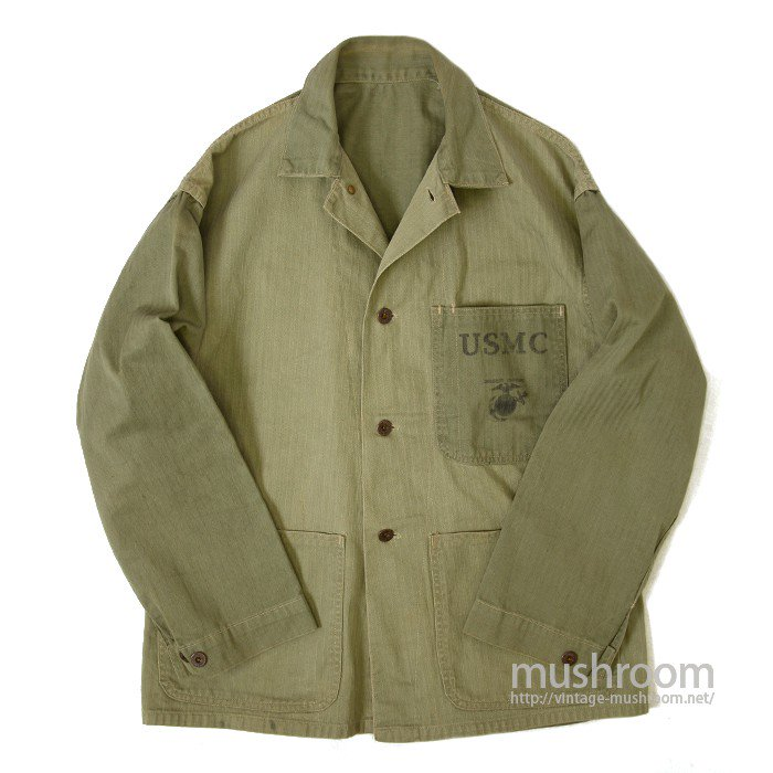 WW2 USMC TWO-TONE HBT UTILITY JACKET