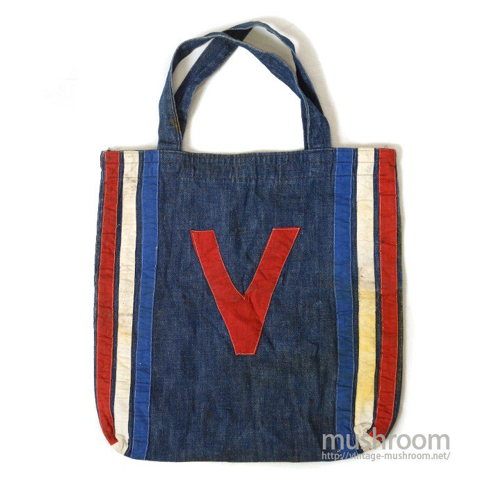 VICTORY DENIM SHOPPING BAG