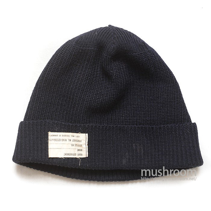 50's-60's〜U.S.NAVY WATCH CAP( MINT )