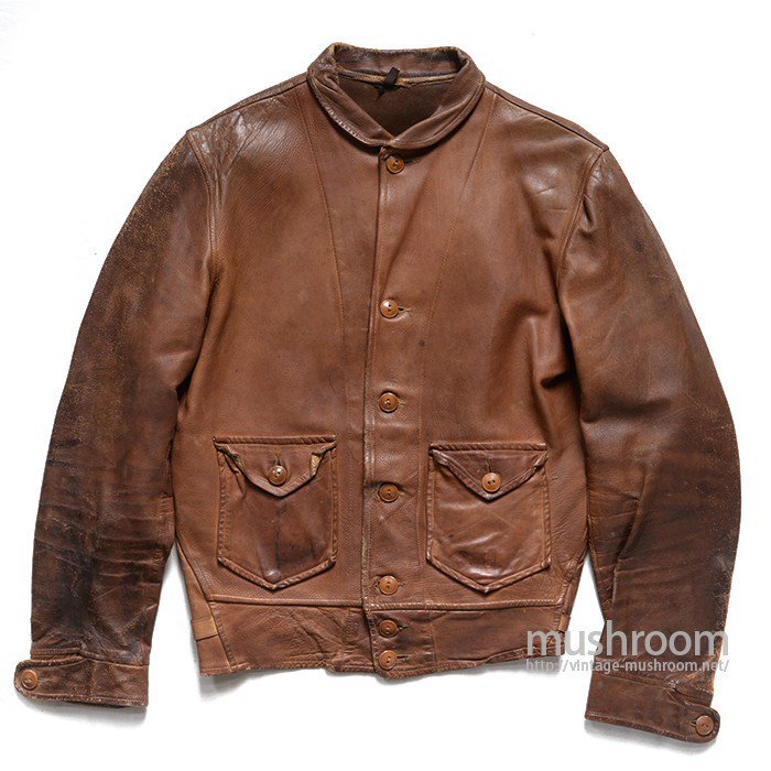 LEVI'S MENLO COSSACK LEATHER JACKET