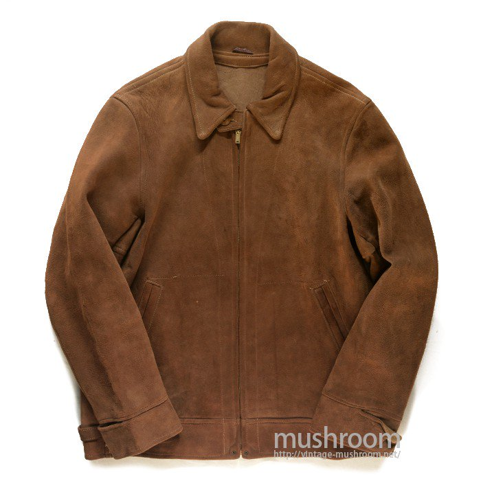 MONGOMERY WARD LEATHER JACKET