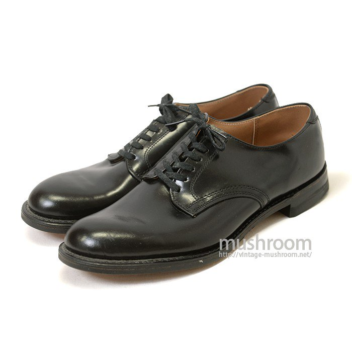 U.S.NAVY LAST OXFORD LEATHER SHOE( DEADSTOCK )