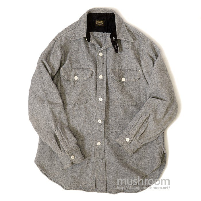 ESKIMO WOOL SHIRT WITH CHINSTRAP