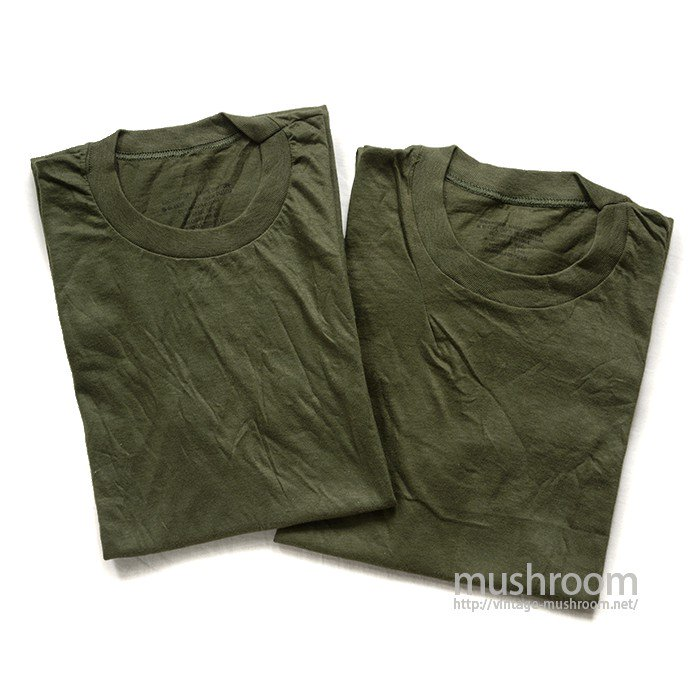 U.S.MILITARY PLAIN T-SHIRT( 2SET/DEADSTOCK �)