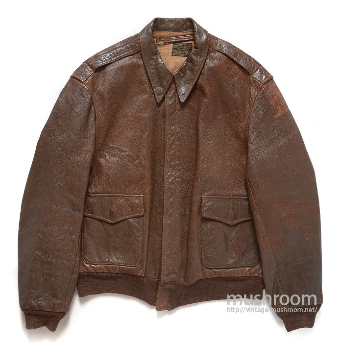 USAAF A-2 LEATHER FLIGHT JACKET