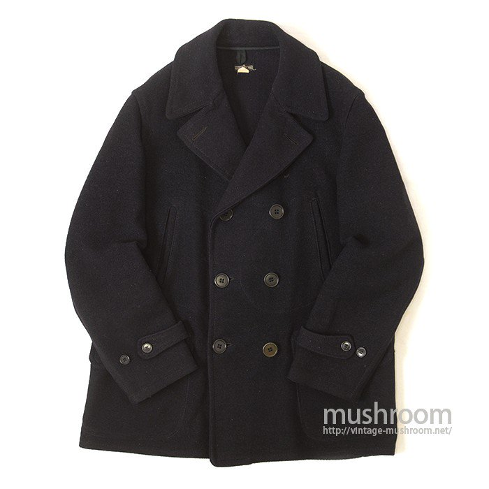 MONTGOMERY WARD DOUBLE BREASTED WOOL COAT