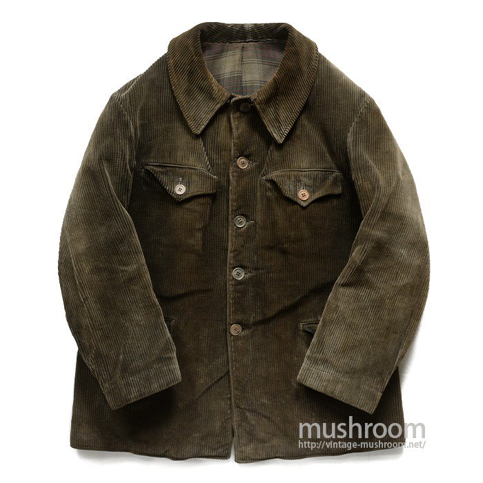 FRENCH CORDUROY HUNTING JACKET