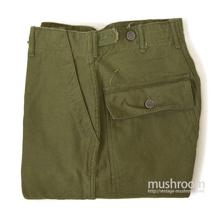 U.S.MILITARY COTTON UTILITY TROUSER( S/DEADSTOCK )