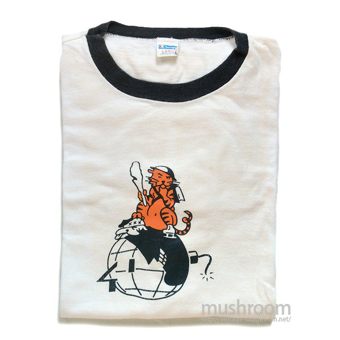 PRINCETON CLASS OF 1941 PRINT RINGER T-SHIRT( MADE BY CHAMPION )