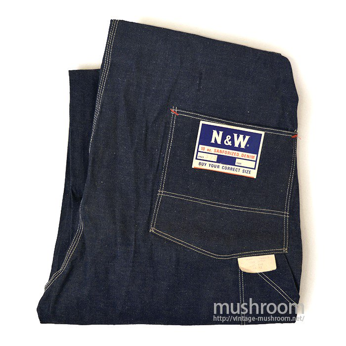 N&W DENIM OVERALL( 46/DEADSTOCK )