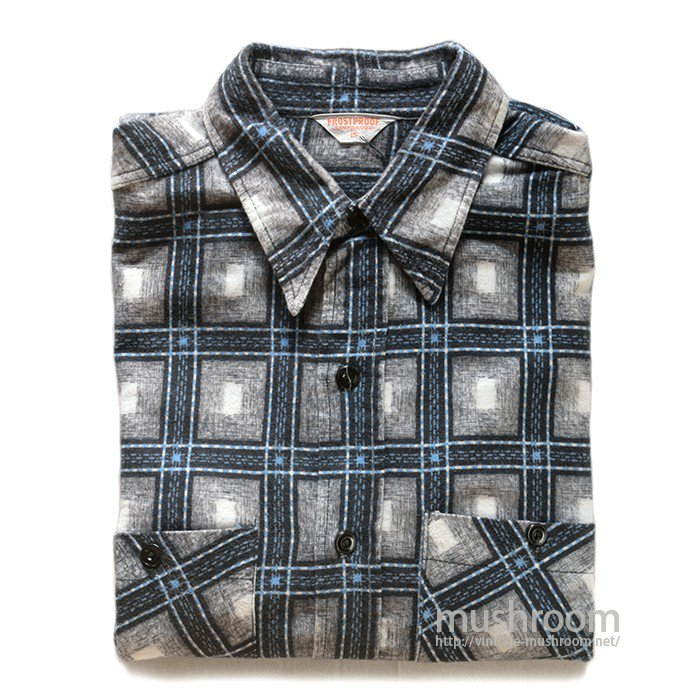 FROSTPROOF PRINT FLANNEL SHIRT( 15/MINT )
