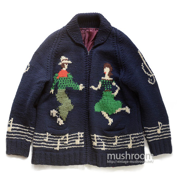 OLD COWICHAN WOOL JACKET( DANCE )