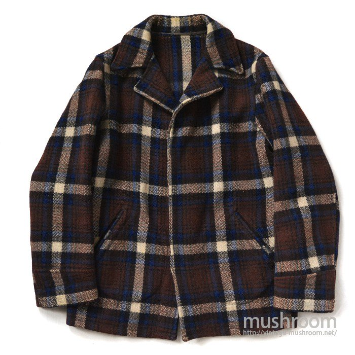 HERCULES PLAID WOOL JACKET