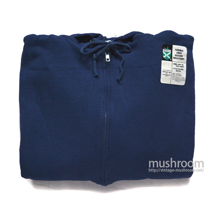 SPRUCE FULL-ZIP SWEAT HOODY( L/NAVY/DEADSTOCK )