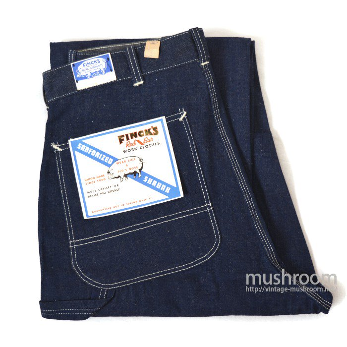 FINCK'S DENIM PAINTER PANTS( DEADSTOCK )