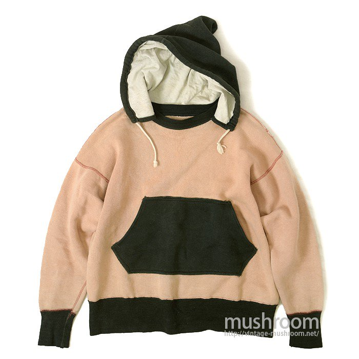 OLD TWO-TONE AFTER HOODY SWEAT SHIRT