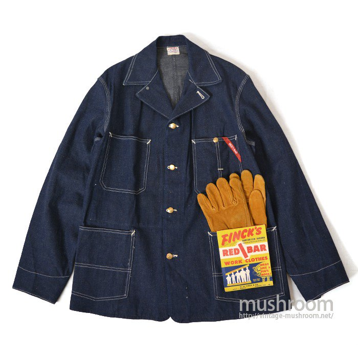 FINCK'S DENIM COVERALL( DEADSTOCK )