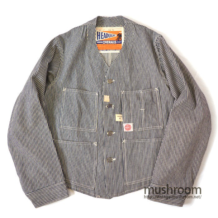 HEAD LIGHT HICKORY-STRIPE ENGINEER JACKET( DEADSTOCK )