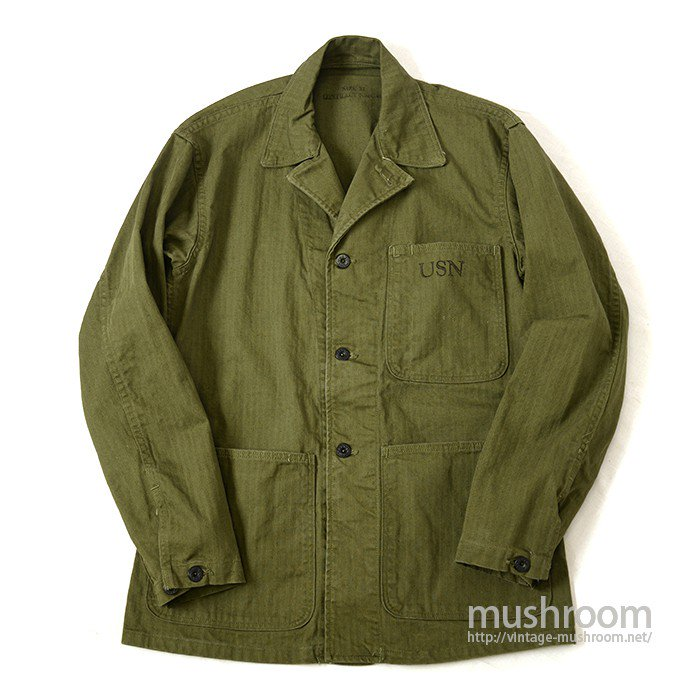 WW2 U.S.NAVY HBT UTILITY JACKET( 34/DEADSTOCK )