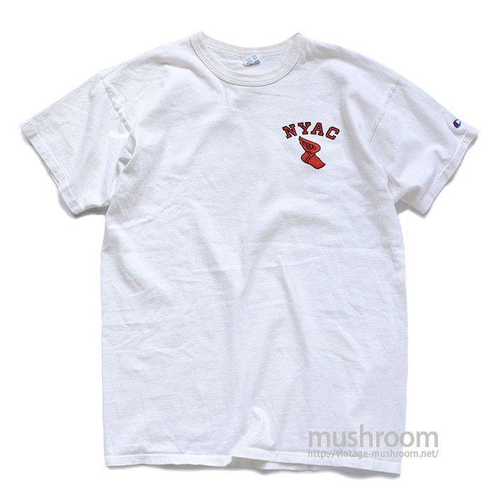 CHAMPION NYAC T-SHIRT( MINT )