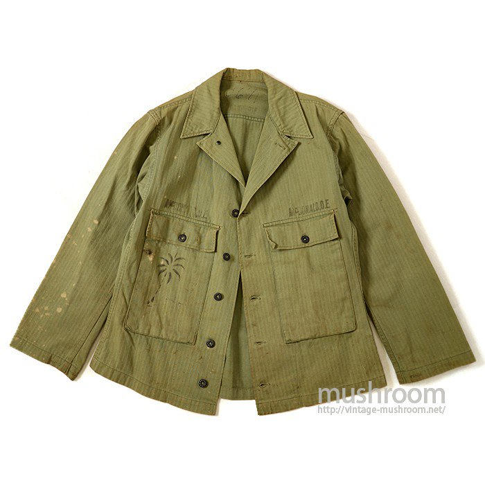 U.S.ARMY HBT JACKET WITH STENCIL