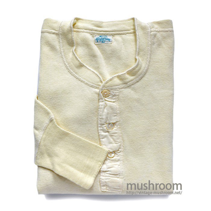 PILGRIM LONG-SLEEVE UNDERSHIRT( MINT )