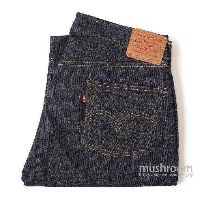 LEVI'S 501XX JEANS( NON-WASHED/UNUSED )