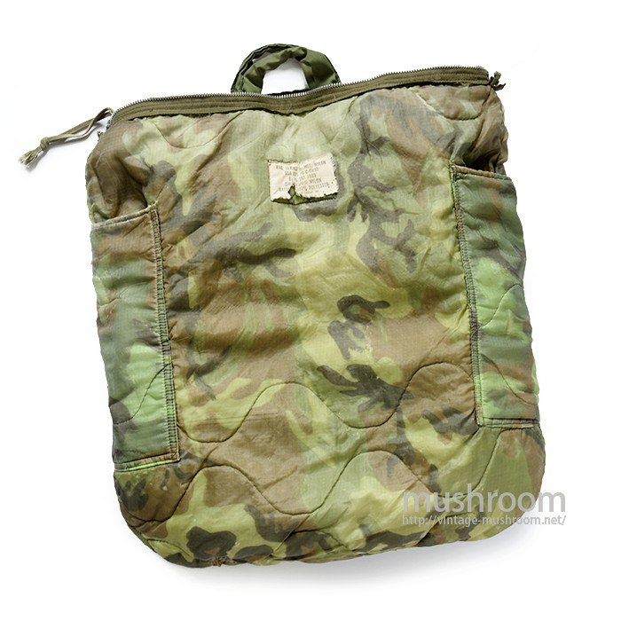 MILITARY NYLON HELMET BAG( camouflage lining  )