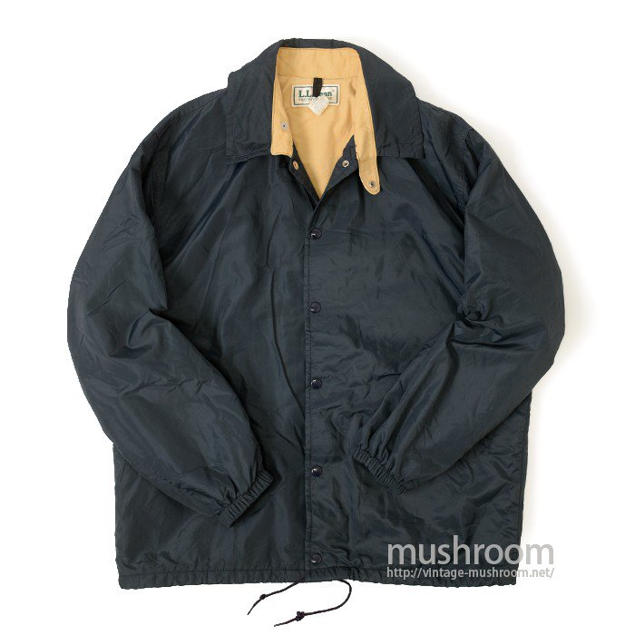 L.L.BEAN NYLON JACKET WITH CHINSTRAP