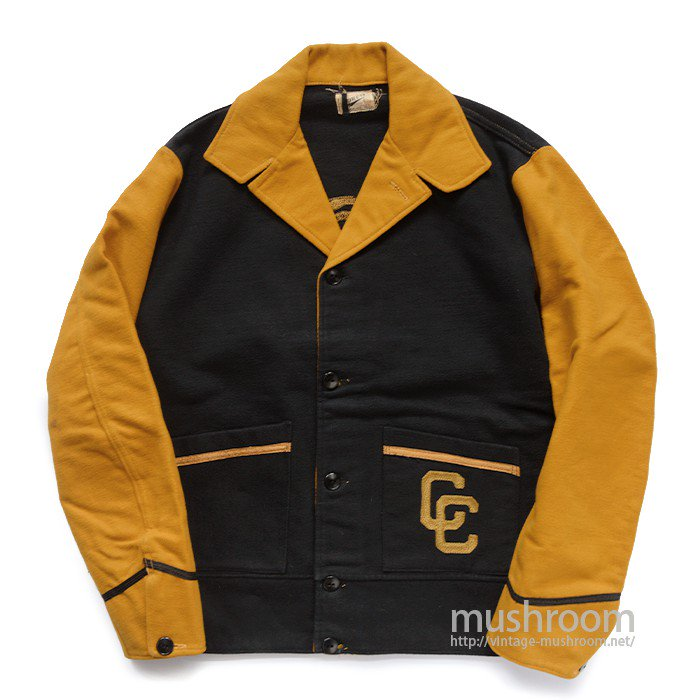POWERS TWO-TONE COLLEGE JACKET( MINT )