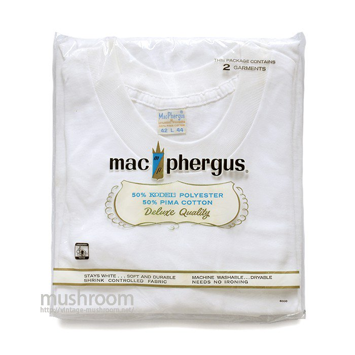 MAC PHERGUS PLAIN T-SHIRT( 2SET/L/DEADSTOCK )