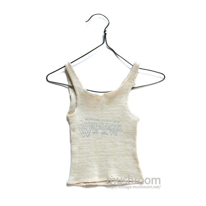 MUNSINGWEAR SALESMANSAMPLE TANK-TOP( DEADSTOCK )