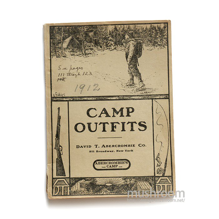 ABERCROMBIE&FITCH CAMP OUTFITS CATALOG