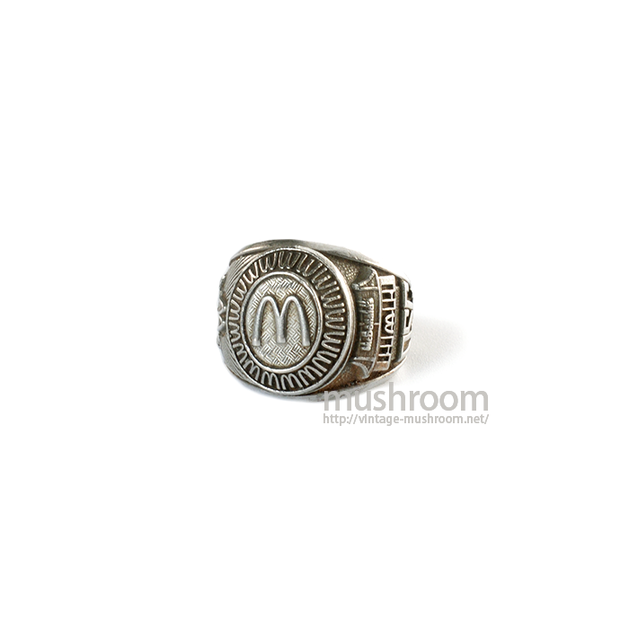 MCDONALD'S COLLEGE RING