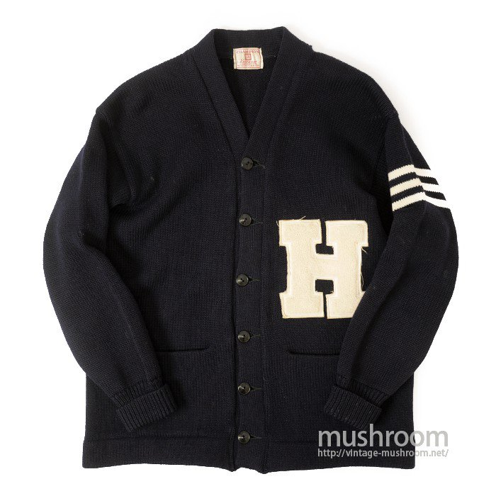 CHAMPION COLLEGE LETTERMAN CARDIGAN