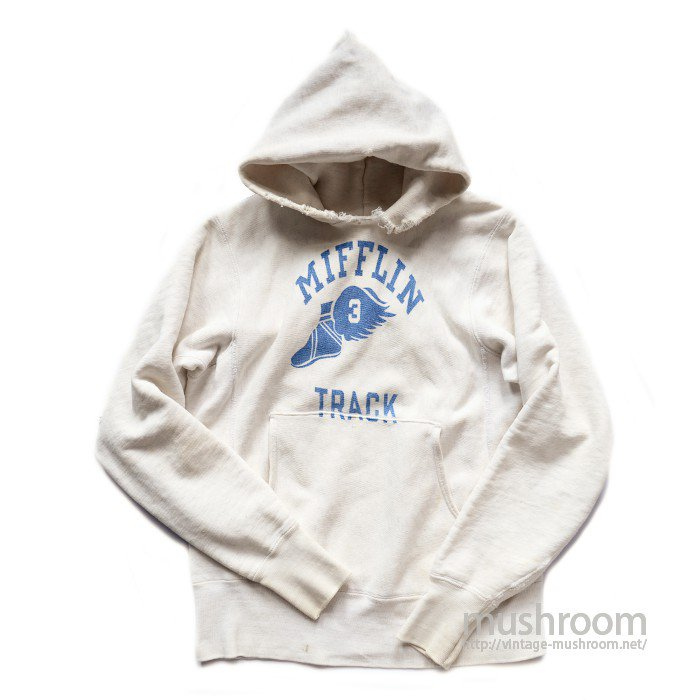 CHAMPION WING-FOOT PRINT REVERSE WEAVE HOODY