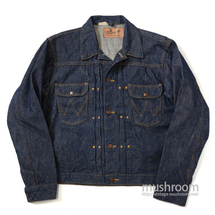 WRANGLER 111MJ DENIM JACKET( UNUSED/ONE-WASHED )