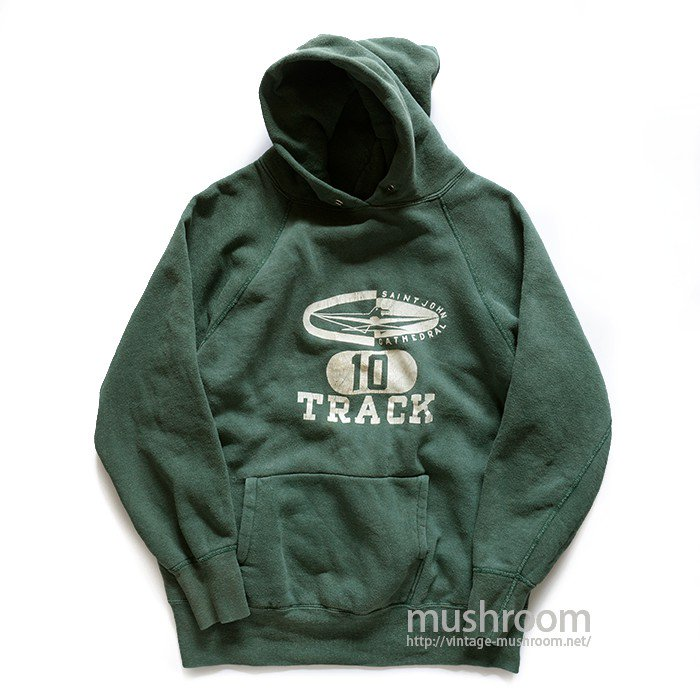 SAINTJOHN CATHEDRAL FLOCK PRINT SWEAT HOODY