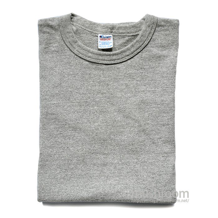CHAMPION PLAIN T-SHIRT( M/MINT )