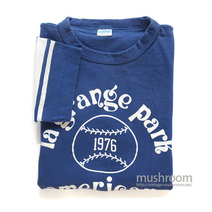 CHAMPION  LA GRANGE PARK T-SHIRT( L/ONE-WASHED )