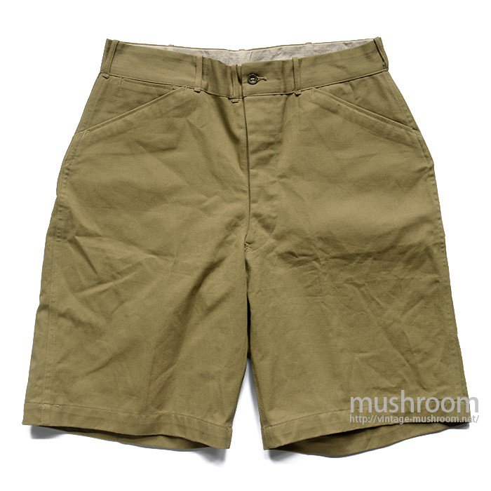 B.S.A CAMP STAFF COTTON SHORTS( 32/DEADSTOCK )