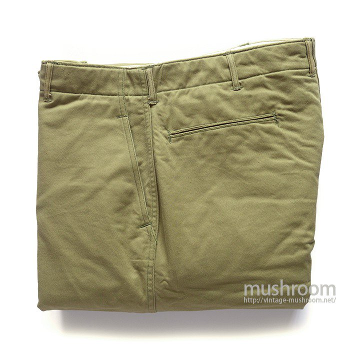 U.S.ARMY CHINO TROUSER WITH BLANKET( W34/L31/MINT )