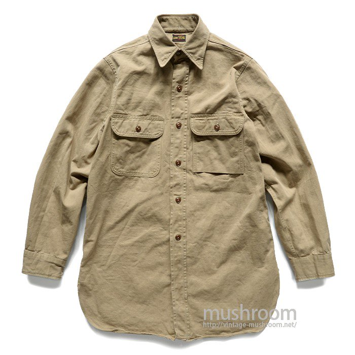 BIG YANK COTTON TWILL WORK SHIRT