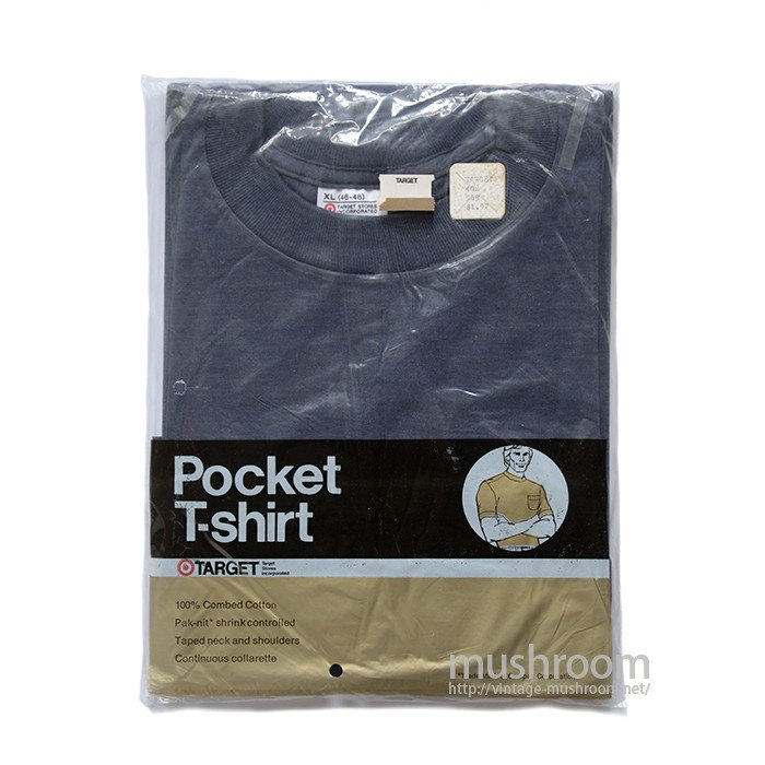 TARGET POCKET T-SHIRT( XL/DEADSTOCK )