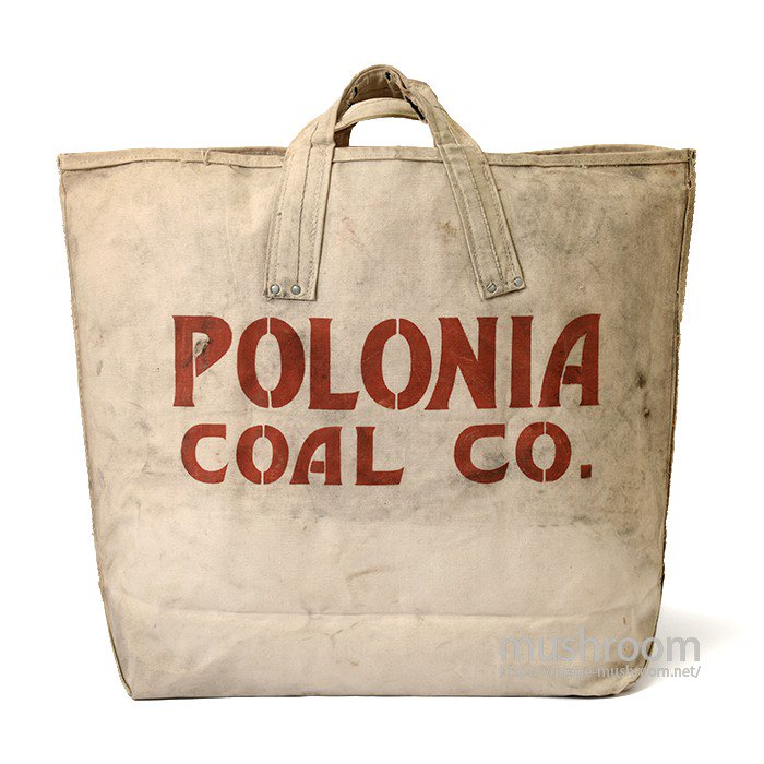 POLONIA COAL CO CANVAS CPAL BAG( DEADSTOCK )