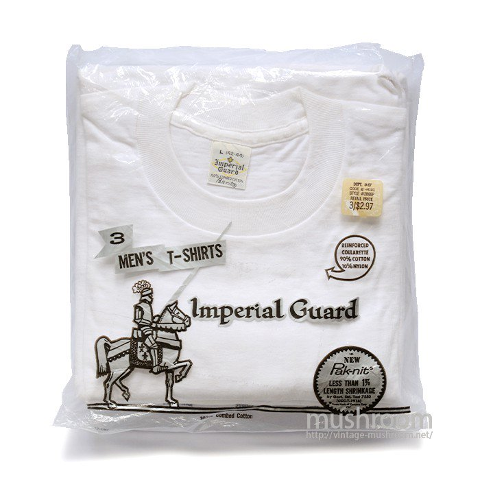 IMPERIAL GUARD 3PACK BLANK T-SHIRT( L/DEADSTOCK )