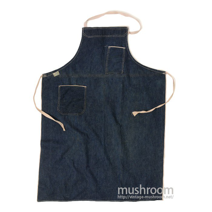 GOOD SERVICE TOWEL SURPLY CO DENIM WORK APRON